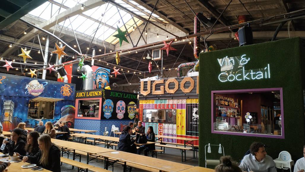 vista general street food